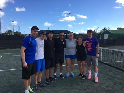 Alberta Tennis Centre in Florida!