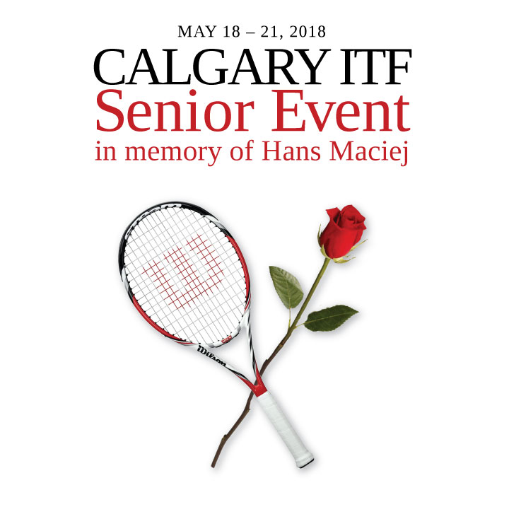 calgary itf senior event in memory of hans maciej presented by wilson come to atc