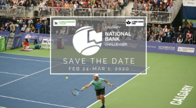 Calgary National Bank Challenger Moved to February 2020